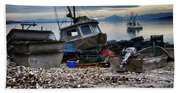 Coastal Fishing Vancouver Island Beach Towel