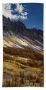 Colorado Mountains Beach Towel