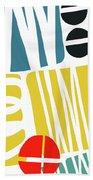 Colorful Bento 1- Art By Linda Woods Beach Sheet