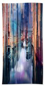 Colorful Canal Beach Towel