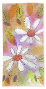 Colorful Spring Beach Sheet