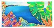Colorful Tropics 16 Beach Towel