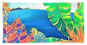 Colorful Tropics 16 Beach Sheet