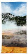 Colors Of Yellowstone Beach Towel by Scott Read
