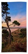 Columbia River Sunrise Beach Towel