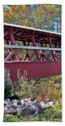 Colvin Covered Bridge Beach Towel