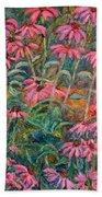 Coneflowers Beach Towel