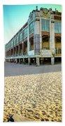 Convention Hall Beach View Beach Towel
