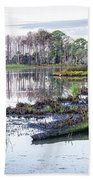Coosaw - Early Morning Rice Field Beach Towel