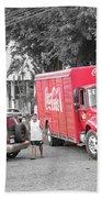 Costa Rica Soda Truck Beach Sheet
