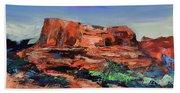 Courthouse Butte Rock - Sedona Beach Sheet