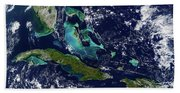 Cuba And Florida Beach Towel