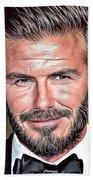 David Beckham Beach Towel