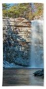 December Morning At Awosting Falls II 2018 Beach Sheet