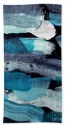 Deep Blue #1 Beach Towel