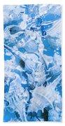Deep Blue Beach Sheet
