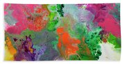 Delicate Canvas Two Beach Towel