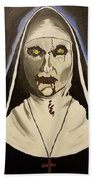 Demon Nun Beach Towel