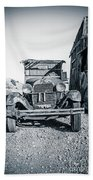 Depression Era Dust Bowl Car Beach Towel