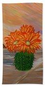 Desert Blooms Beach Sheet