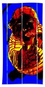 Digital Monkey 3 Beach Towel