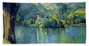 Lake Annecy - Digital Remastered Edition Beach Towel