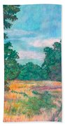Dirt Road Near Rock Castle Gorge Beach Towel