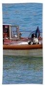 Doggone Fishin Beach Towel