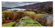 Dolbadarn Castle View Beach Towel