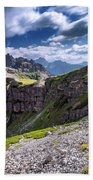Dolomites Beach Towel