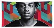 Don't Kill My Vibe Kendrick Beach Towel