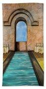 Dream Alley Beach Towel by Paul Wear