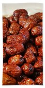 Dried Chinese Red Dates Beach Towel