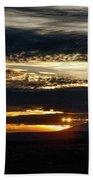 Dual Sunstars At Nipple Bench Sunrise Beach Towel