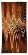 Earth Frequency Beach Towel