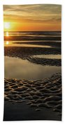 Ebb And Flow  Beach Towel by Donnie Whitaker