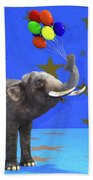 Elephant Celebration Beach Towel