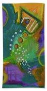 Emerald Dreams Beach Towel