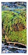Emerald Tree Beach Towel