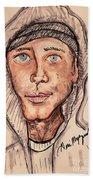 Eminem  Marshall Mathers Beach Towel