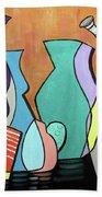 Empty Vases Beach Towel by Anthony Falbo