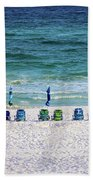 Endless Blue Beach Towel