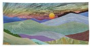 English Downs In Late Autumn Beach Towel