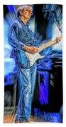 Eric Clapton Slowhand Beach Towel