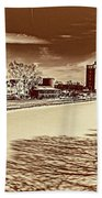Erie Canal At Pittsford Beach Towel