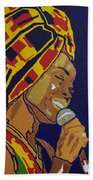 Erykah Badu Beach Towel