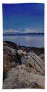 Evening In Tromso Beach Sheet
