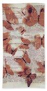 Exotic Scripts Beach Sheet