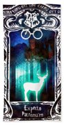 Expecto Patronum Beach Towel