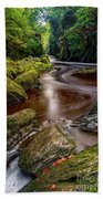 Fairy Glen Gorge Beach Towel